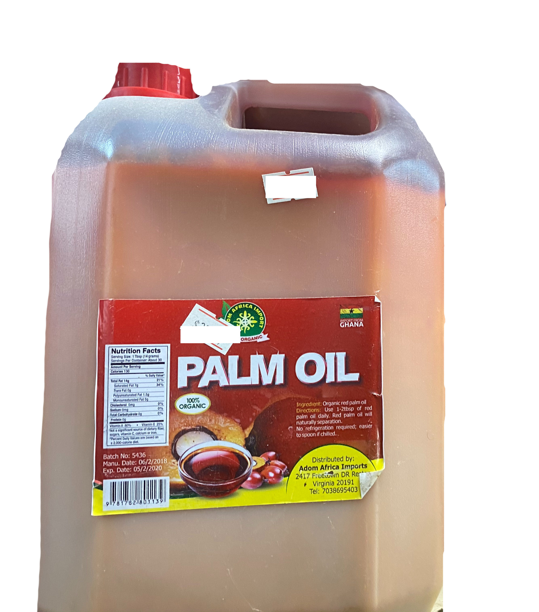 Adom Africa Import Palm Oil