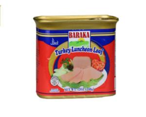 BARAKA Turkey Luncheon Loaf