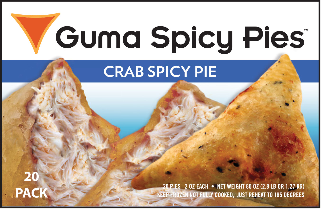 Guma Spicy Pie - Crab Spicy Pie