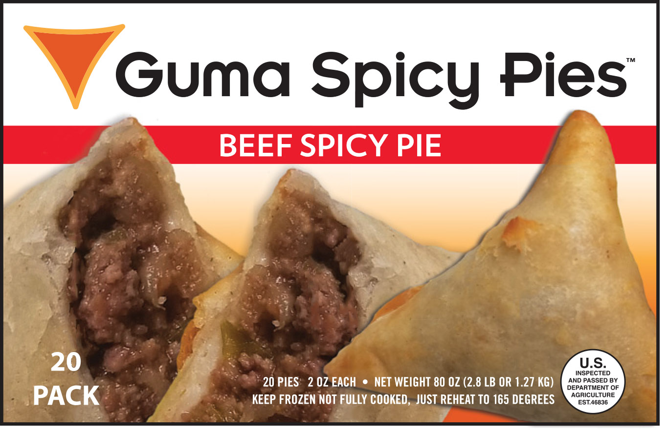 Guma Spicy Pie - Beef Spicy Pie
