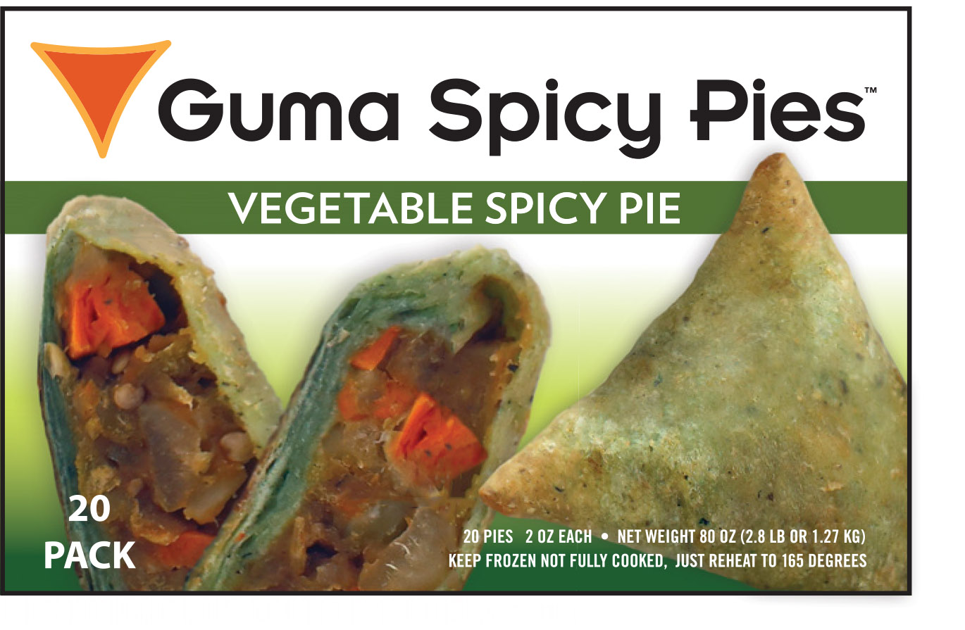 Guma Spicy Pie - Vegetable Spicy Pie