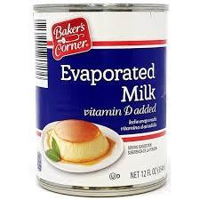 Baker's Corner Evaporated Milk