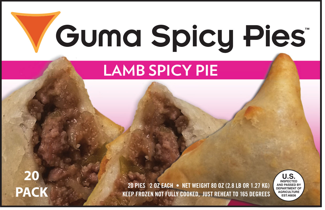Guma Spicy Pie - Lamb Spicy Pie
